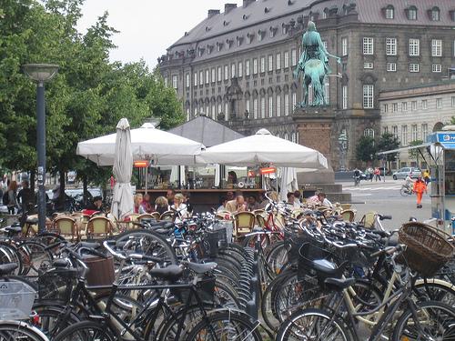 Más bicicletas en Copenhague