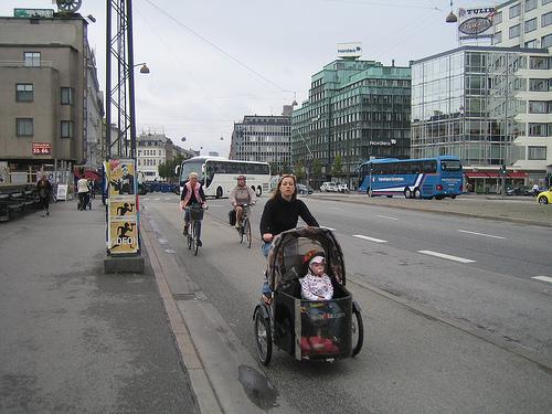 Bicicletas en Copenhague, y 3