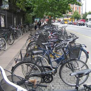 Bicis y más bicis en Copenhague