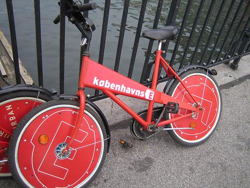 Bicicletas para turistas en Copenhague