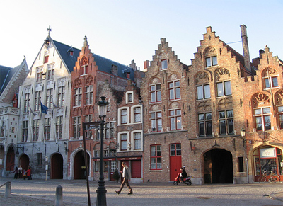 Edificios en Brujas