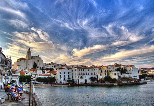 Las vistas del puerto de Cadaqués