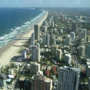 La Gold Coast de Australia, el paraíso para los surfistas