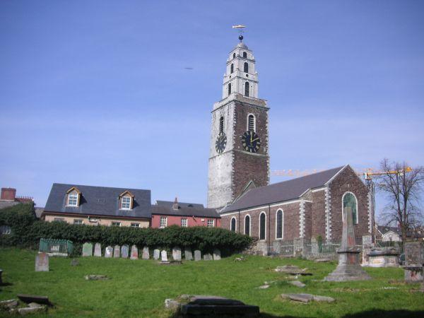 Iglesia de Cork, en el sur de Irlanda