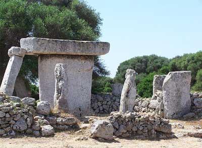 Talayots en Menorca