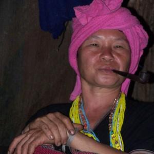 Tribus de la montaña en Tailandia