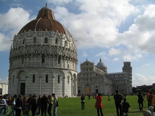 Piazza dei Miracoli, en Pisa