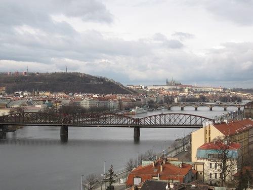 Vistas de Praga desdel Vysehrad