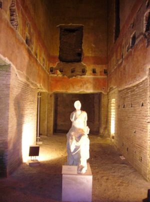 Restauración de la Domus Aurea