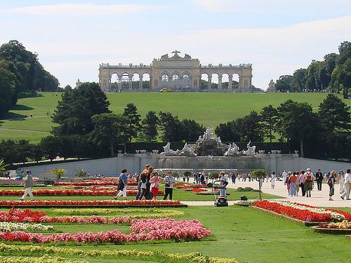 Jardines del Palacio de Schönbrunn