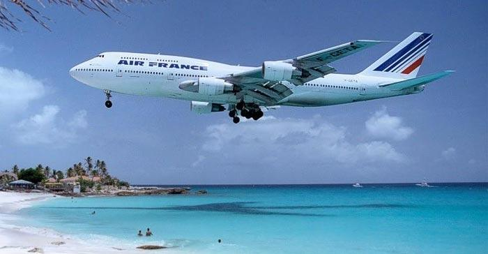 Un avión de Air France