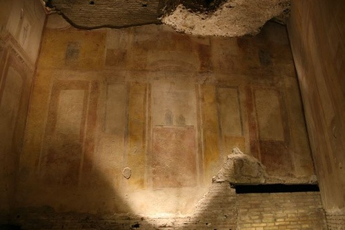 Fresco en la Domus Aurea