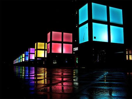 Colores en la noche