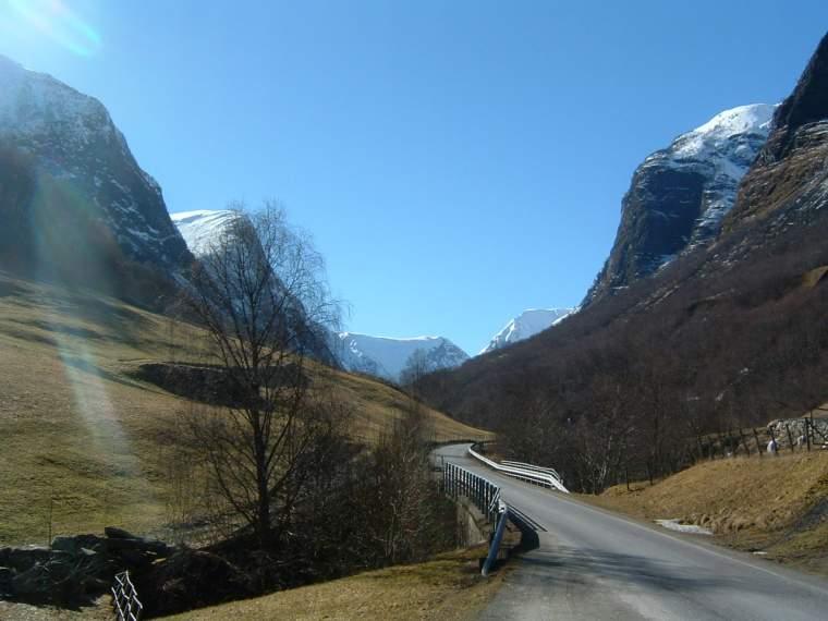 Ruta de Göteborg a Bergen en Noruega