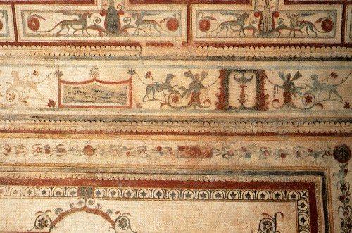 Fresco de la Domus Aurea de Roma