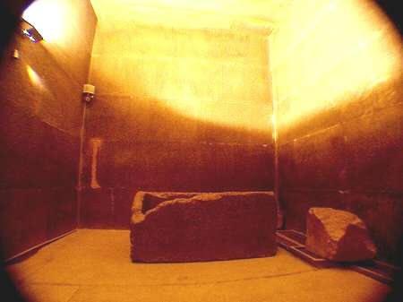 La Cámara del Rey de la Pirámide de Keops