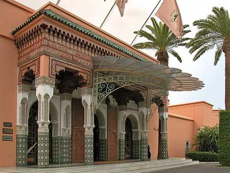 Palacio Mamounia Marrakech