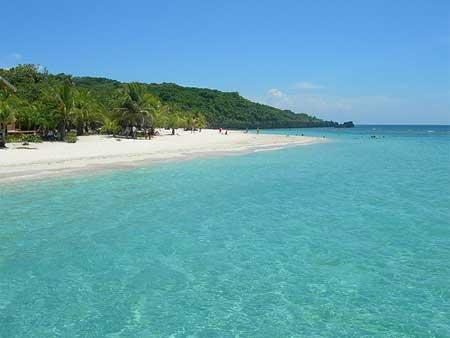 Playa en Roatan