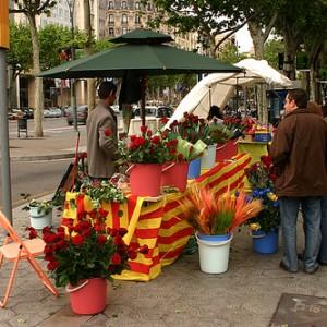 Sant Jordi en Barcelona, ¡no te lo pierdas!