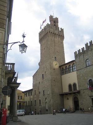 El Palacio Comunal de Arezzo