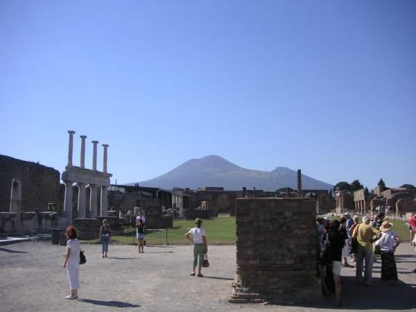 El foro de la ciudad de Pompeya