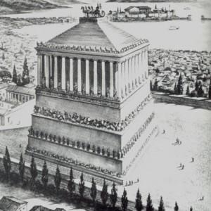 El Mausoleo de Halicarnaso, una de las tumbas más bellas de la Antigüedad