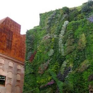 El jardín vertical de Madrid