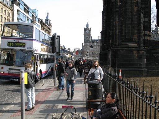 Princess Street de Edimburgo