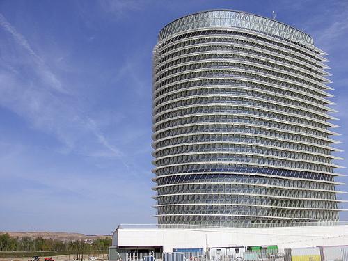 Torre del agua de la Expo 2008 de Zaragoza