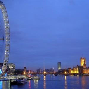 El London Eye de Londres, sube a la noria más alta de Europa