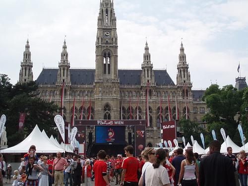 Rathaus de Viena, Eurocopa 2008