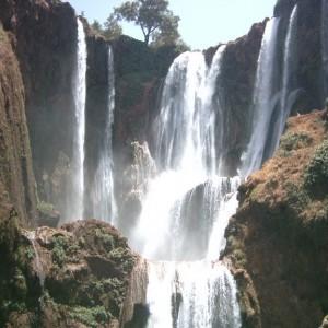 Las cascadas de Ouzoud en Marruecos