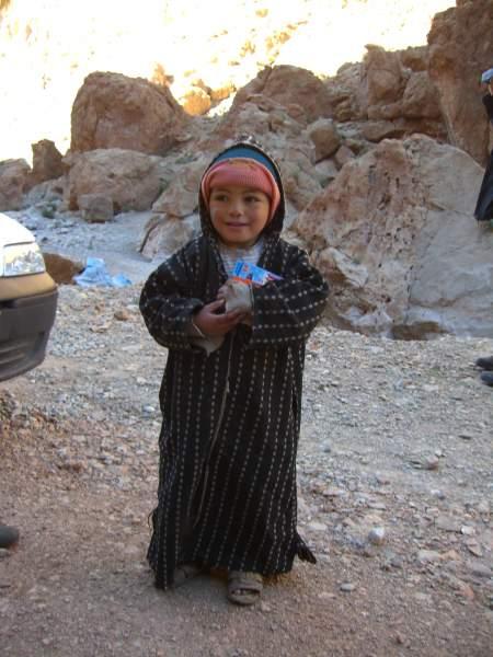 Un niño bereber
