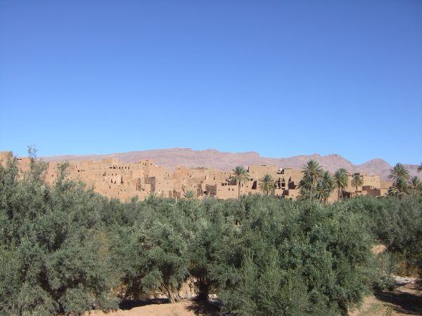 Las gargantas del Todra en Marruecos