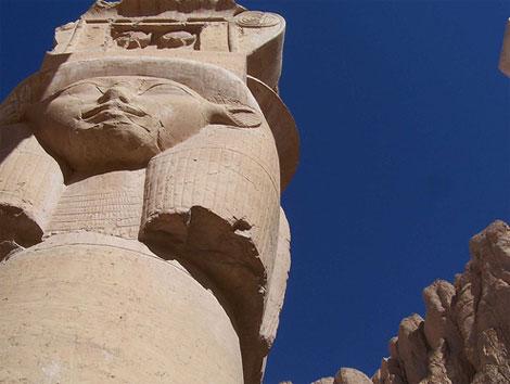 Columna del templo de Hatshepsut