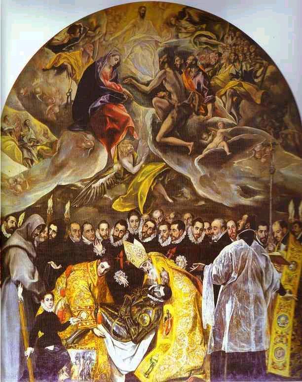 El cuadro del Greco del entierro del conde Orgaz