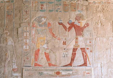 Bajorelieve del templo de Hatshepsut