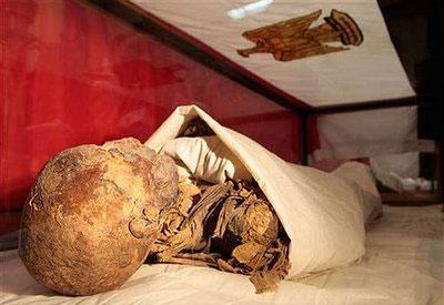 Momia de Hatshepsut