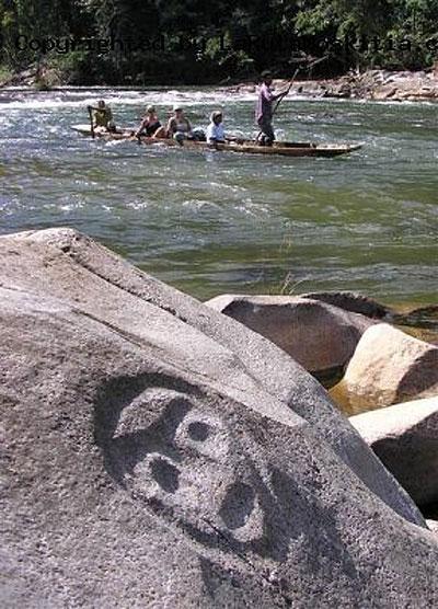 Petroglifos en La Moskitia