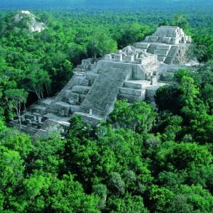 Las ruinas mayas de Calakmul en México