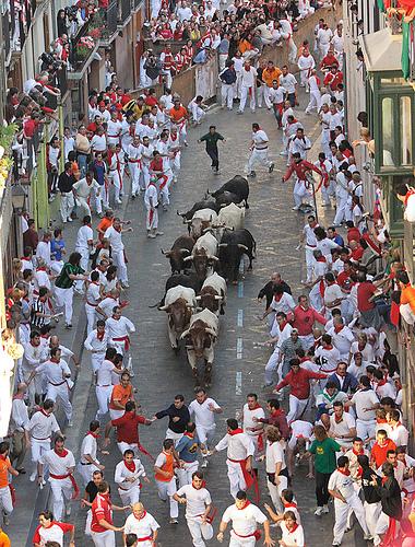 Corrida de toros en San Fermín 2007