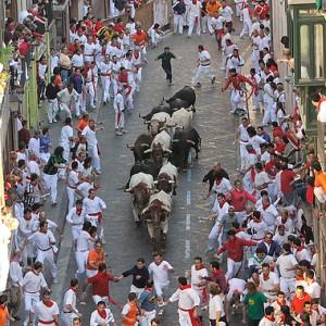 Empieza el San Fermín en Pamplona