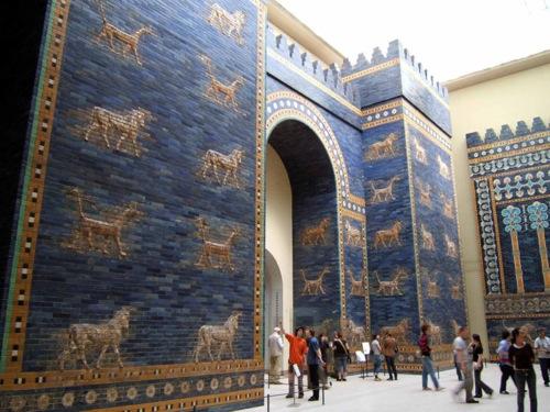 La Puerta de Ishtar, en el Museo de Pérgamo de Berlín