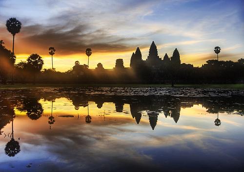 Puesta de sol en Angkor @ Trey Ratcliff