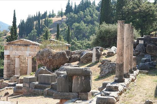 Templo de Apolo en Delfos @ Camille