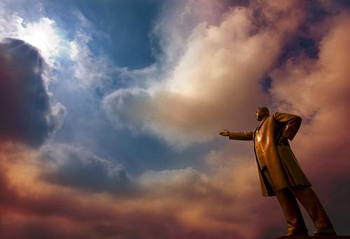 Kim Sung II dictador de Corea del Norte de Flickr