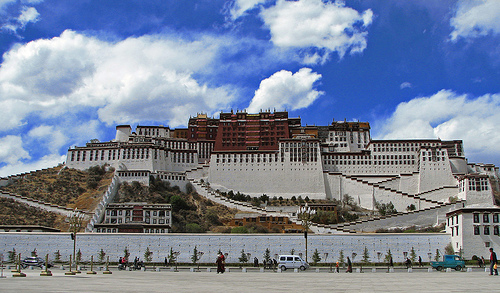 Potala Palace en Lhasa (Tibet)