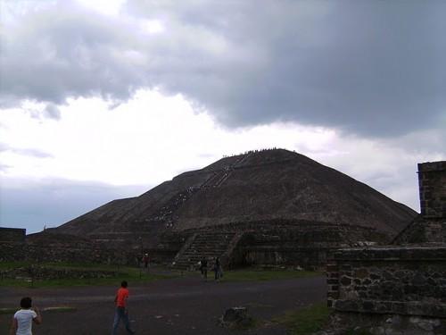 Pirámide del Sol de Teotihuacán