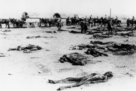 Cadáveres españoles en el Monte Arruit, en 1923