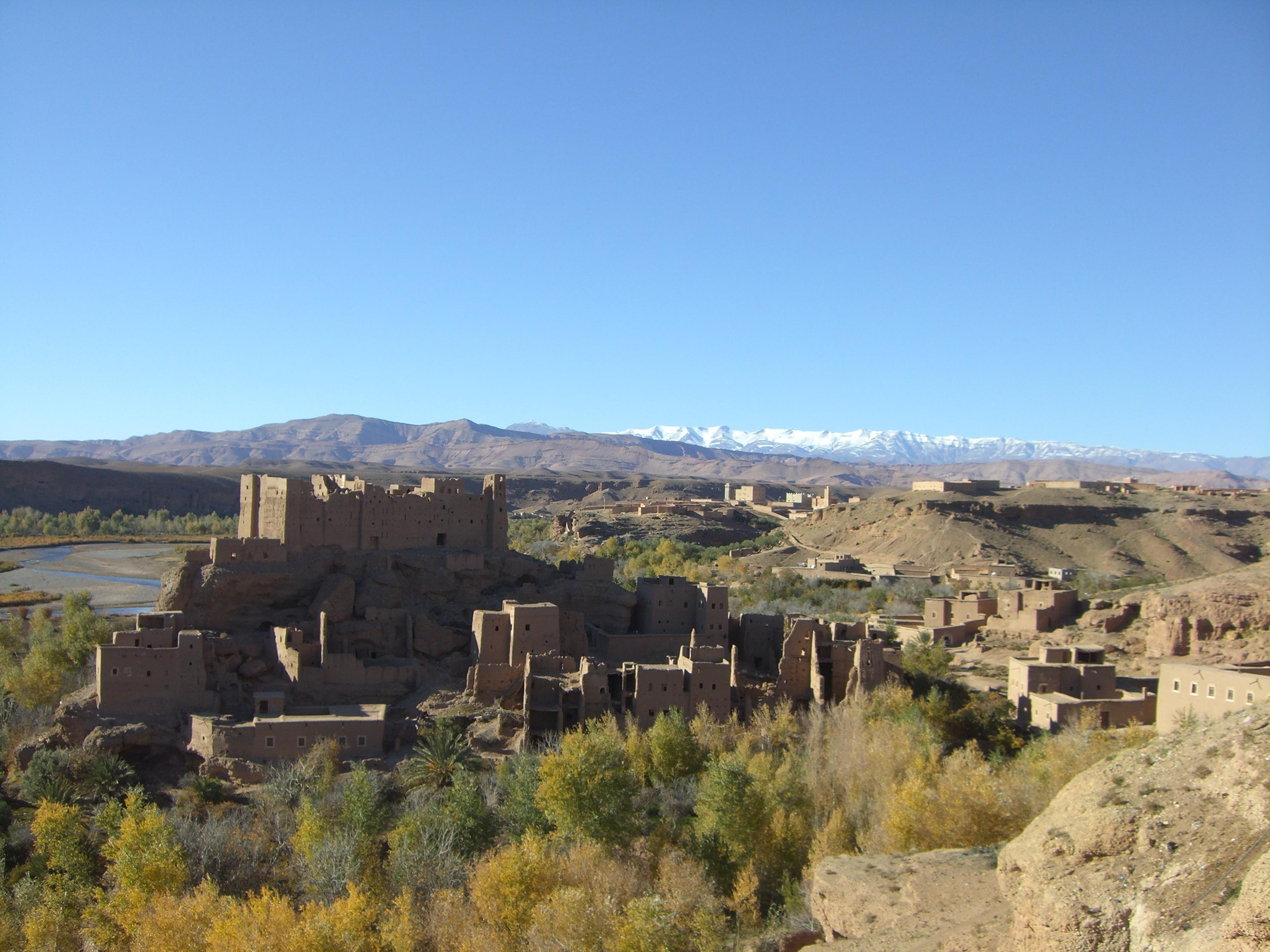 Kasbah cerca de Tinehir